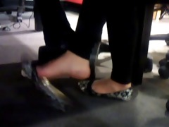 hot oriental thai candid foot dangling