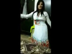real pakistani wife dances in advance of sex with