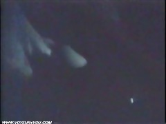 midnight raunchy intercourse inside the car