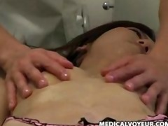 used by her masseur