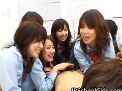 oriental schoolgirls are having a biggest part10