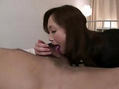 slutty miyama ranko gives her chap a tongue