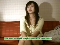 saori virginal wicked asian beauty is talking