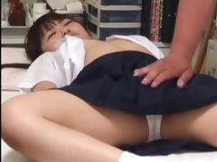 japanese schoolgirl (50+) drilled during medical