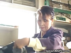 excited japanese milfs engulfing and fucking