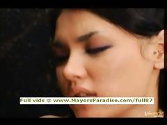 maria and yuka osawa smart oriental women licking