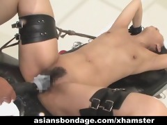 oriental hottie bond and fuckd by a fucking