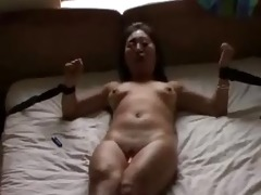 irish lad bonks oriental whore hard then cums on
