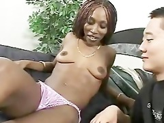 slender swarthy playgirl likes oriental pecker
