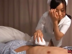 oral-service nurse hina hanami sucks