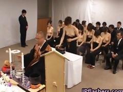 oriental girls go to church half bare part4