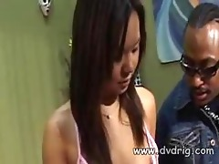 cute oriental brunette hair kammy is amazed when