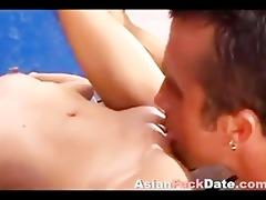 biggest penis inside small oriental muff