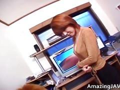 small oriental redhead engulfing wang