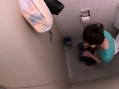 cute oriental chick receives concupiscent pissing