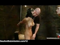 tied babes blindfolded and caned by master