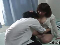 hawt oriental home teacher with big juggs part8