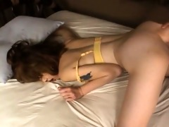 masturbating and deep oriental anal sex