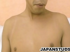 motoyoshi horie - attractive japan lad jerking