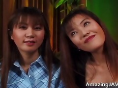 shaggy japanese lesbians licking every part2