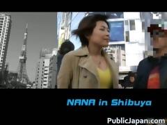 excited nana natsume screwed in a van