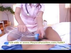 risa kasumi virginal chinese nurse does