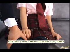 miyu hoshino innocent chinese schoolgirl being