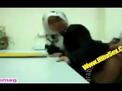 oriental jilbabhijab sex in a lab