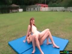 outdoor sex love japanese honey cute angel clip-12