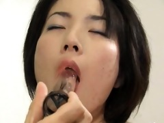 unfathomable anal sex with hairy chinese honey