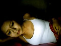 indonesian cutie likes to tease on web camera