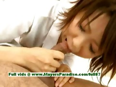 miriya hazuki superb asian cutie gives head
