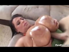 indianna jaymes getting her large scoops drilled