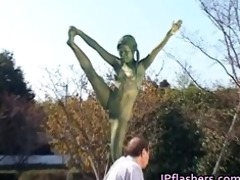 crazy japanese bronze statue moves part7