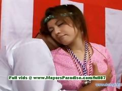 yuzuru hawt angel teen japanese gal enjoys