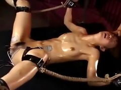 japanese girl drilled to orgasms by