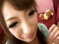oriental schoolgirl engulf small dong
