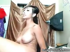 hawt oriental chick acquires her wet twat