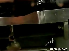 doctor fingering oriental nurse