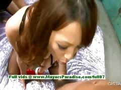 asuka hawt gal fascinating chinese model enjoys