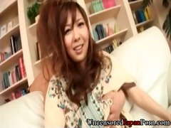 bushy japanese uncensored - sex toy play with