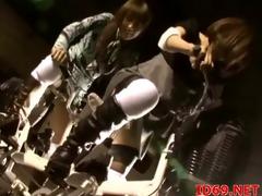 japanese av model in a piddle movie scene