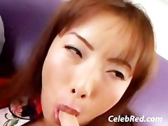 constricted oriental brunette hair hardcore some