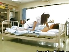 hawt breasty japanese nurse!