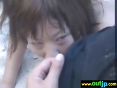 outdoor hawt cute asians acquire nailed movie-52