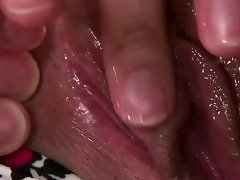 nene masakis pleasing pussy is split wide as she