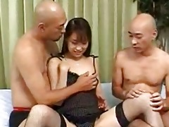 miku adachi receives her taut cunt fucked by