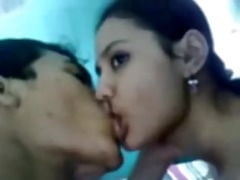 juvenile charming bengali gal fucks, displays