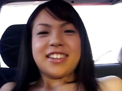 amateur mongolian hooker in the car