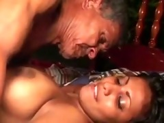 46 year old indian girl drilled by 76yr old